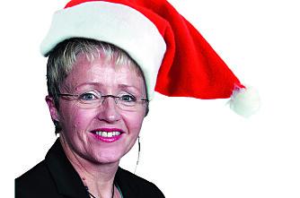 God jul til Liv Signe og Lars Peder!