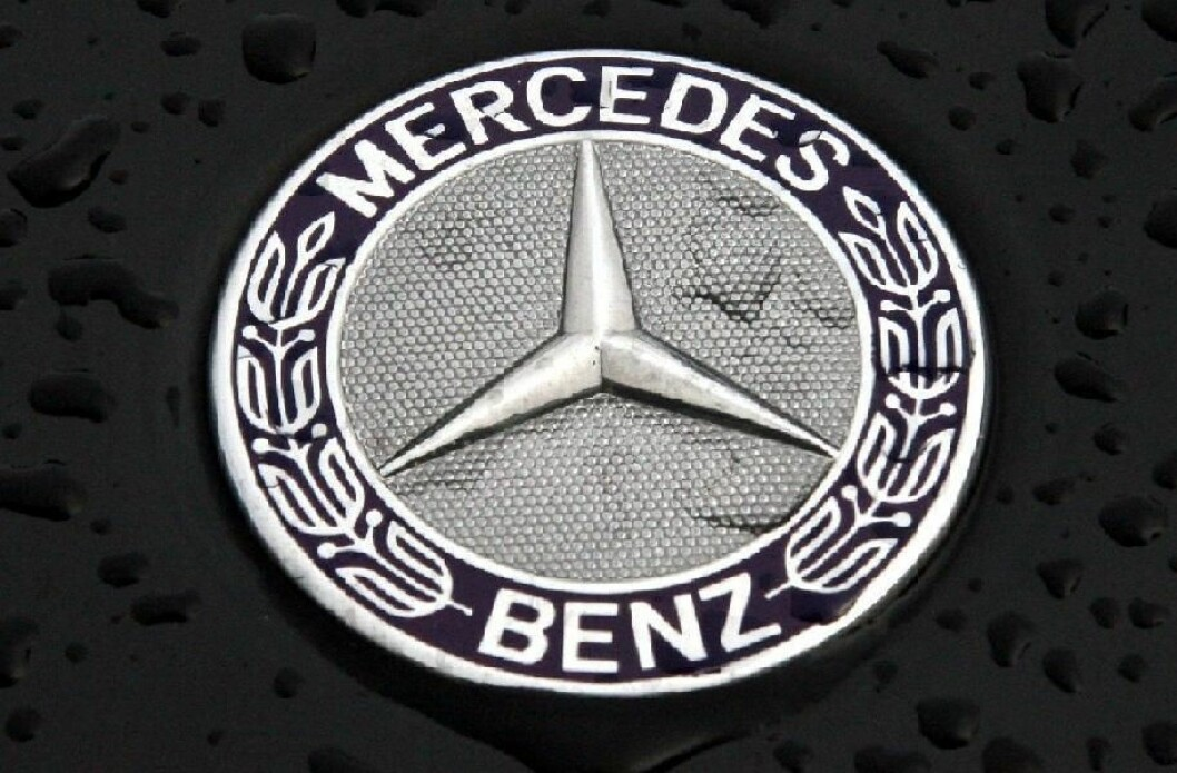mercedes logo (colourbox.com)