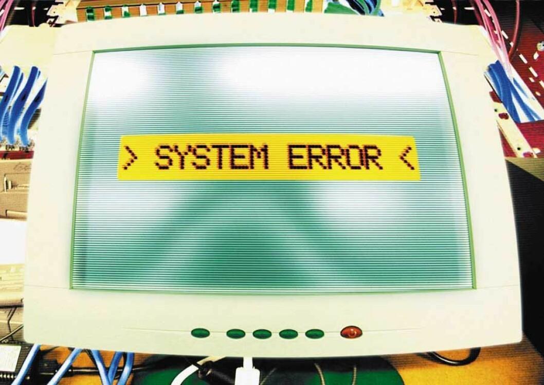system error (colourbox.com)