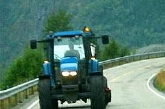 Ikkje EU-kontroll på traktorar...