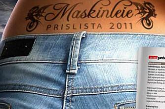 Maskinleigeprislista 2011