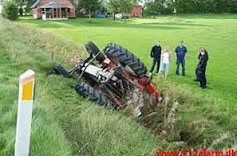 Flest uhell med eldre traktorer