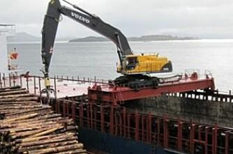 Fem nye tømmerkaier rustes opp