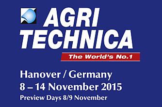 Fem gull på Agritechnica