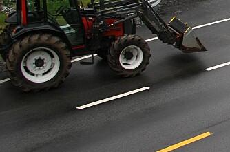 Traktor mot fart