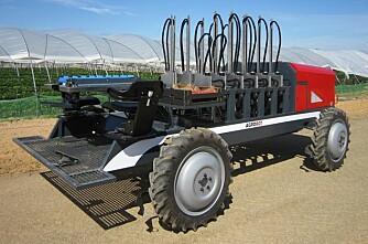 Jordbær-robot med 60 armer
