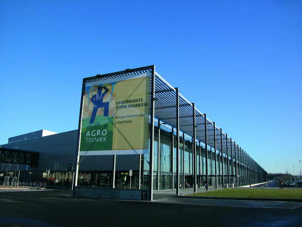 1 år, 1 måned og 1 uke igjen til Agroteknikk 2018 i Norges Varemesse, Lillestrøm.