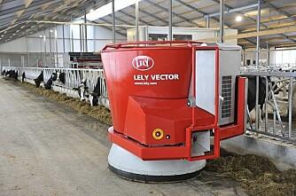 Sjølgående fullfôrvogn fra Lely