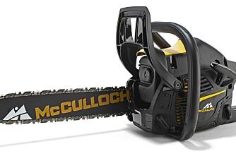 McCulloch med maskulin motorsag-serie