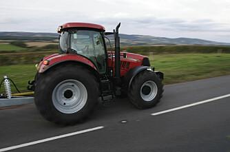 Rushtidsforbud for traktorer i Danmark?