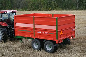 Orkel størst på traktorhengere