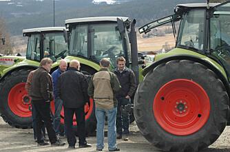 Ingen EU-kontroll av traktor