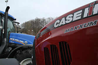 New Holland og Case IH skilles i Sverige