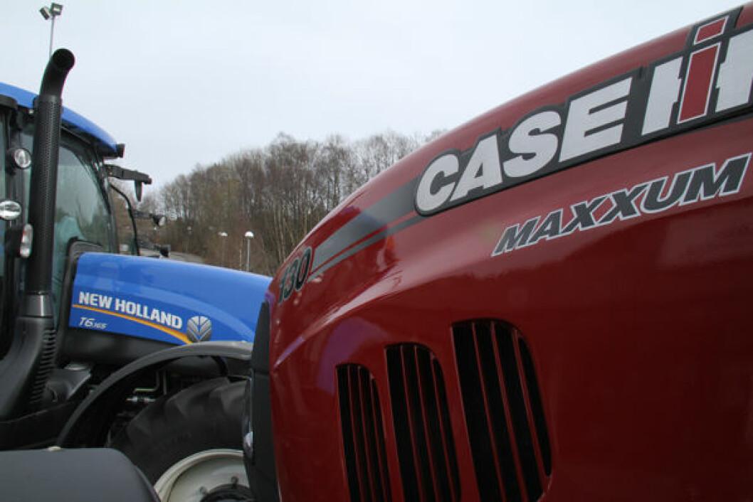 CNH Case Maxxum New Holland T6