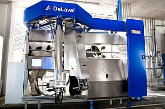 5000 DeLaval roboter