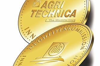 Fire gull på Agritechnica