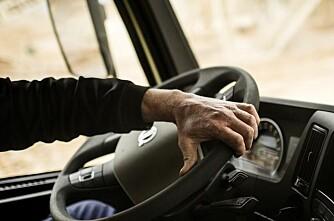 Volvo med elektrisk hjelpestyring
