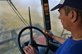 Færre årsverk i landbruket