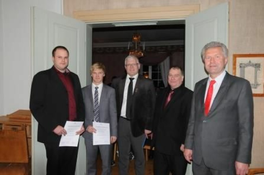 Blæstad beste bachelor 2012