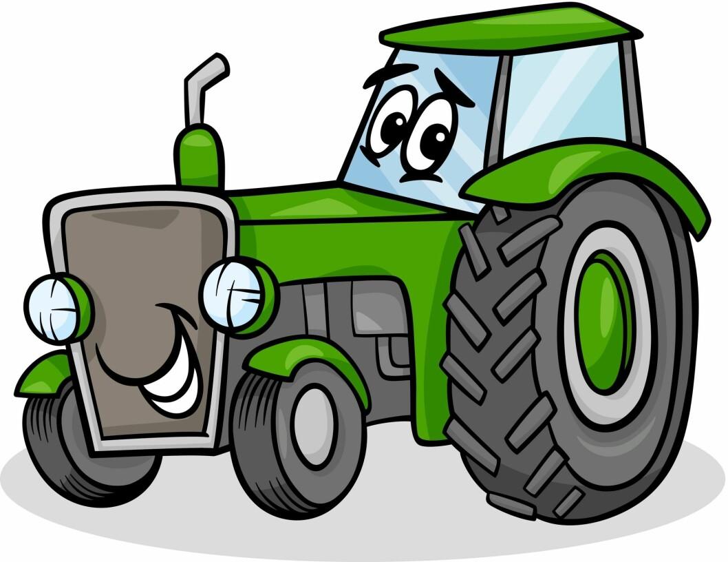 Traktor (vector)