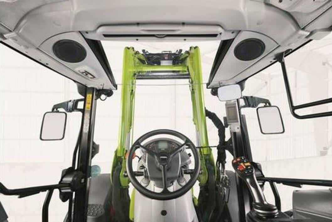 Claas Arion Panoramic cab