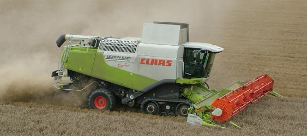 Claas Lexion 580TT