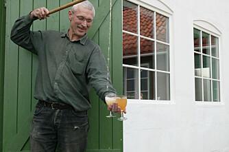 Gardssalg av alkohol like om hjørnet