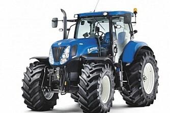 Traktorsalget i Danmark tilbake 25 prosent