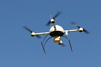 Varmesøkende droner finner sauen