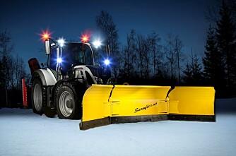 Ny norskprodusert snøplog