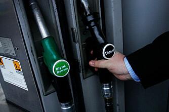 Lager diesel på luft og vann