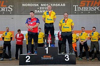 Sølv til Norge i Stihl Timbersports