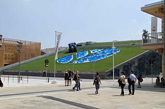 New Holland viser seg fram på Expo