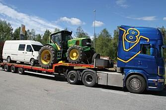 Finsk besøk til tractorpulling på Kirkenær