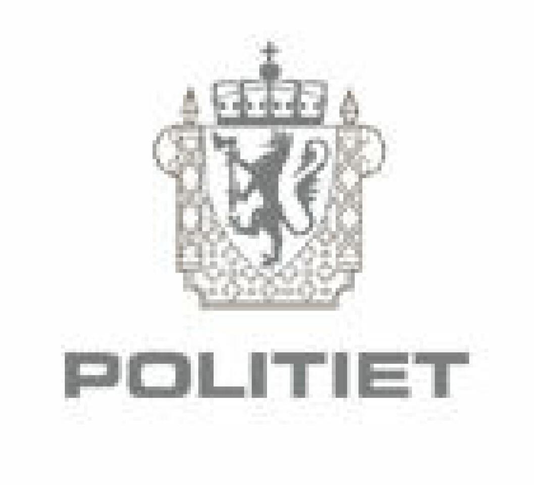 politi logo grå