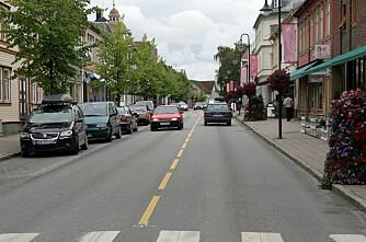 Null-visjon forbi Levanger - alle traktorer må gjennom sentrum