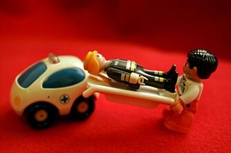 Traktor mot personbil