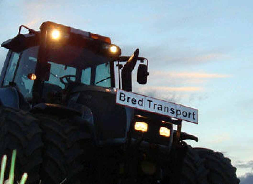 bred transport lhstokstad