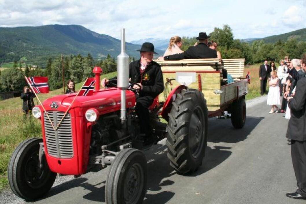 bryllup i Valdres