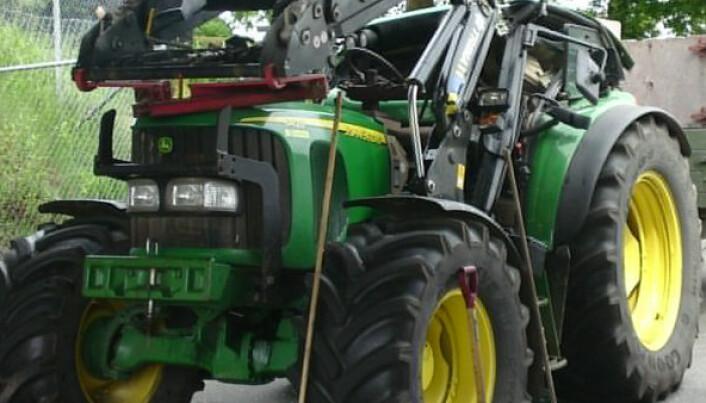Flere alvorlige traktorulykker