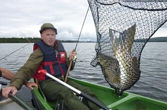 4 millioner til innlandsfiske neste år