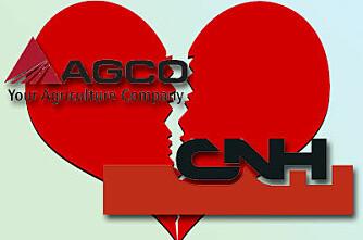 Rykte om Agco-CNH-fusjon blir neppe oppfylt