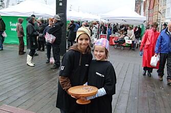 Bergenserne elsker Bondens marked på Bryggen