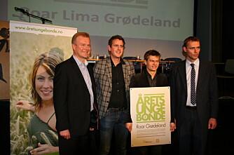 Roar Lima Grødeland ble Årets unge bonde