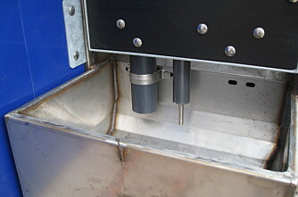 Sensor i krybba sikrer purka matro