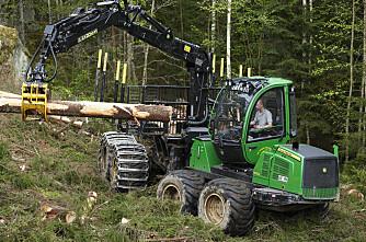 Det hogges mer i norske skoger
