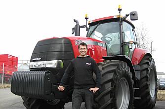 A-K ansatt lurte traktortyv i fella