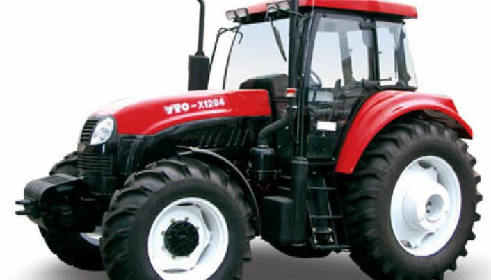 YTO overtar Argo-fabrikk