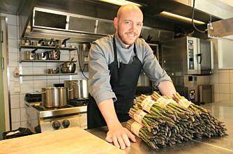 Kokk: - Norske asparges tar kaka!