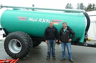 Første Moi RX95 er levert